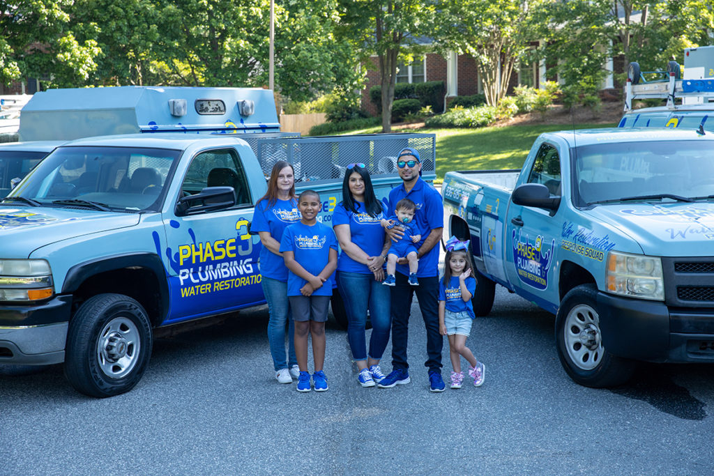 Phase 3 Plumbing & Water Restoration: A Family Company