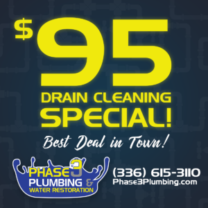$95 Drain Cleaning Special